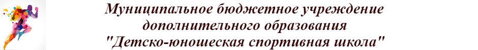 """""""Детско – юношеская спортивная школа"""""""